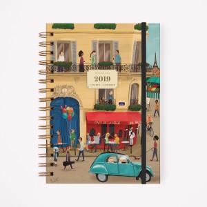 Agenda 2019 A5 Semanal De Viaje De Paris a Londres