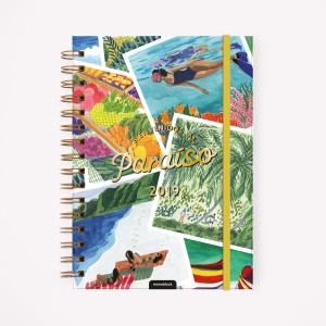 Agenda 2019 A5 Semanal De Viaje Playa Paraíso