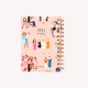Agenda 2019 Pocket Happimess Girl Power 2 días por hoja