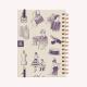 Agenda 2019 A5 Semanal Coco Chanel Liberté Makers