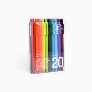 Pure x20 Lapiceras con tinta gel