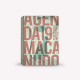 Agenda 2019 Semanal Mediana Macanudo por Liniers Letras Rojas Cosida