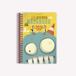 Planner 2019 Macanudo Olga Yellow Ringed
