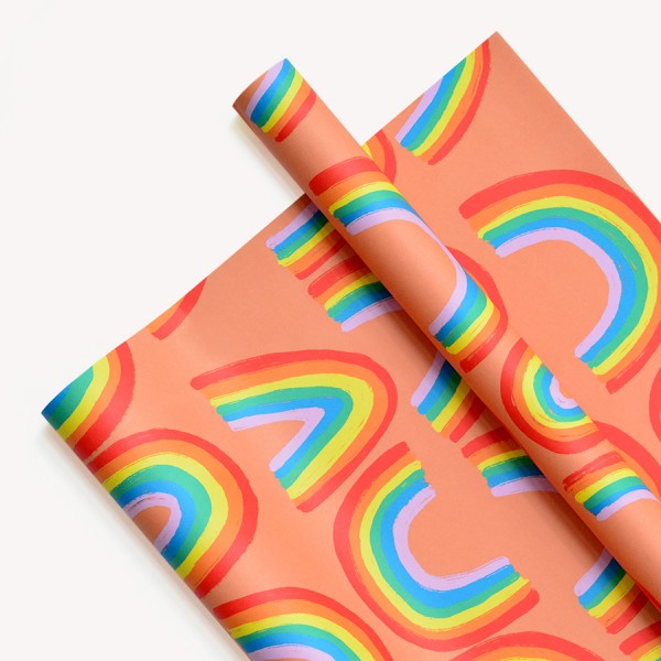 Papel Decorativo 50x70 Big Rainbow