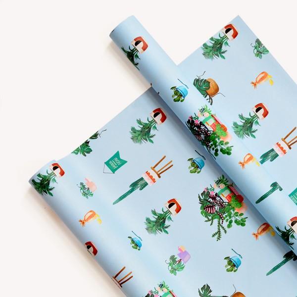 Papel Decorativo 50x70 Mi tiempo plantas