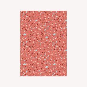 Papel Decorativo 50x70 Terrazo Coral