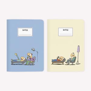 Tute Barrilete / Atardecer Notebook Set x2