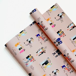Amigas Wrapping Paper