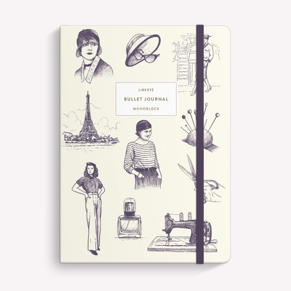 Coco Chanel Sewn Medium Notebook