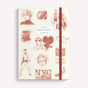 Warhol Sewn Medium Notebook