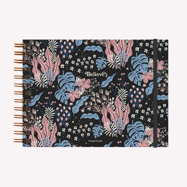 Cuaderno Apaisado Happimess Believe