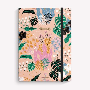 Believe Sewn Medium Notebook