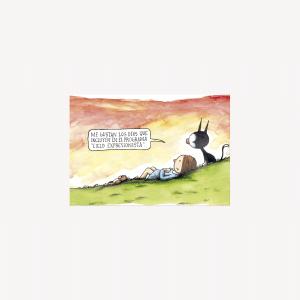 Cielo Expresionista Postcard