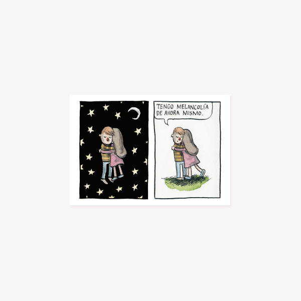 Melancolía Postcard