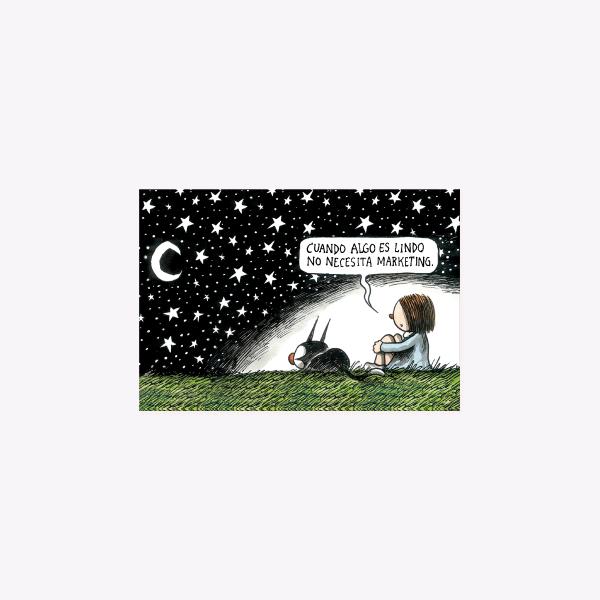 Noche Estrellada Postcard