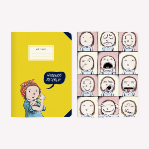 Enriqueta and Podemos Hacerlo Pocket Notebook Set x2