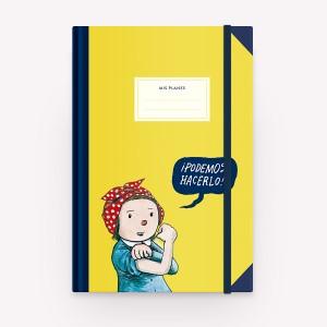 Cuaderno Tapa Dura Podemos Hacerlo Rayado