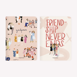 Libretas x2 Amigas Girl Power