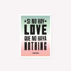 Viñeta Imantada Love - Nothing