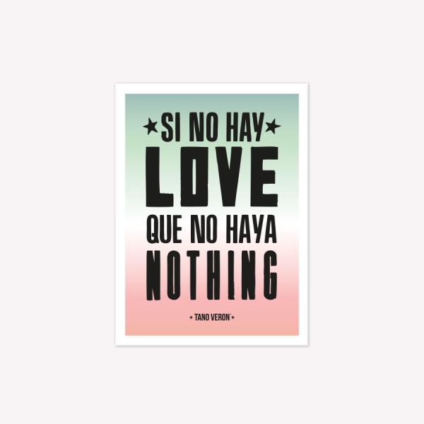 Viñeta Imantada Love Nothing