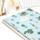 Cuaderno A4 Tapa Dura Rayado Plantas