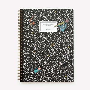 Cuaderno A4 Tapa Dura Liso Macanudo Composition Book
