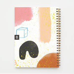 Gran Quilombo Feliz Hardcover Large Notebook