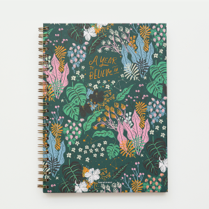 Hardcover Notebook A4 Plain Happimess A Year to Believe