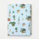 Plantas Ruled Hardcover Large Notebook