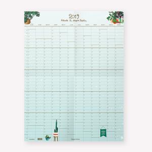 Planner Anual 2019 de Pared Planta tu Propio Jardín