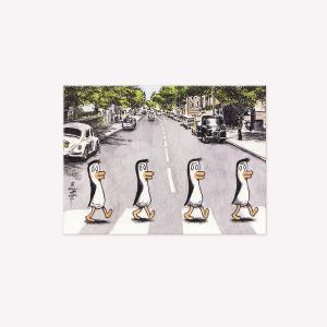 Viñeta Imantada Pingüinos Beatles