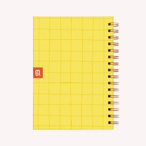 Cuaderno Mediano Sé La Alegría Rayado