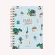 Sé la Alegría Dot Medium Notebook