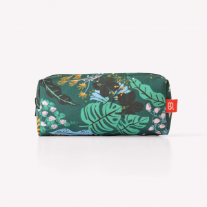 Believe Verde Canvas Pencil Pouch
