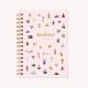 Wanderlust Spiral Hardcover Notebook