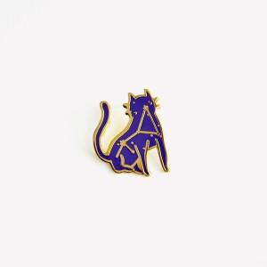 Pin Encantado Amuleto Gato