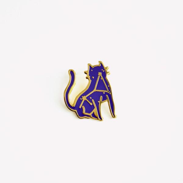 Pin Bruja Moderna Amuleto Encantado Gato