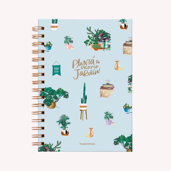 Plantá tu propio jardín Medium Notebook
