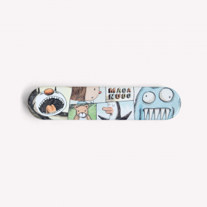 Macanudo Liniers Metallic Pencil Case