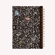 Ringed Notebook A5 Bullet Journal Composition Book
