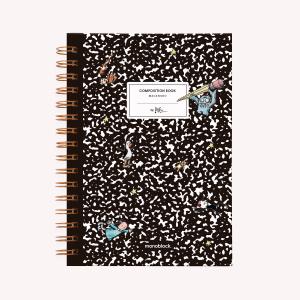 Cuaderno Anillado A5 Punteado Composition Book
