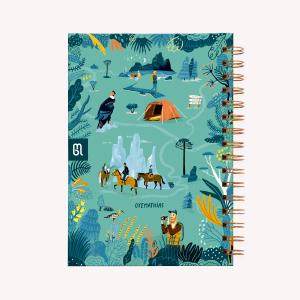 Cuaderno Tapa dura Patagonia