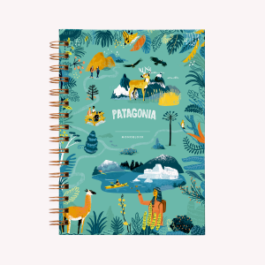 Patagonia Spiral Dot Notebook