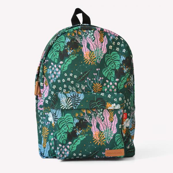 Believe Green Bold Backpack