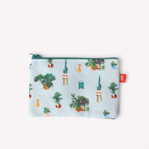 Plantá tu Jardin Canvas Pencil Pouch