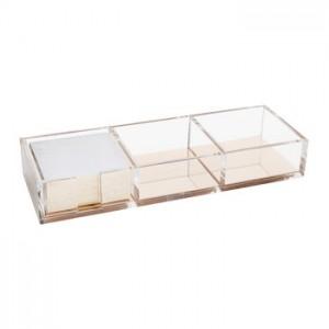 Desk Organizer Acrylic and Metal