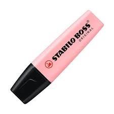 Stabilo Highlighter Pen Pink