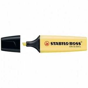 Resaltador Stabilo Pastel Amarillo