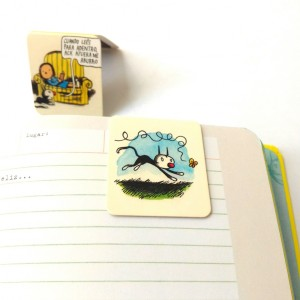 Fellini Butterfly Magnetic Bookmarkers