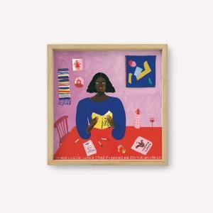 Póster 30x30 Malevich por Maria Luque